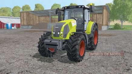Claas Axion 830 loader mounting для Farming Simulator 2015