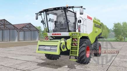 Claas Lexion 740 yellow-green для Farming Simulator 2017