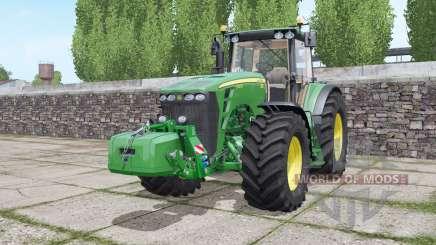 John Deere 8430 configure для Farming Simulator 2017