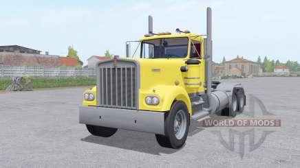 Kenworth W900A 6x6 для Farming Simulator 2017