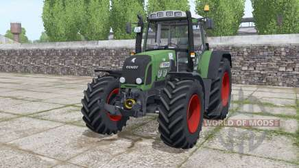 Fendt 820 Vario TMS løader møunting для Farming Simulator 2017