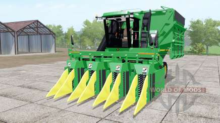 John Deere 9965 lime green для Farming Simulator 2017