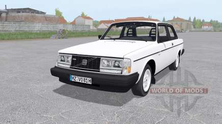 Volvo 242 Turbo для Farming Simulator 2017