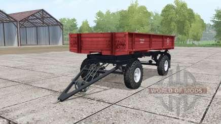 2ПТС-4 умеренно-красный для Farming Simulator 2017