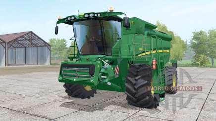 John Deere S690i moving elements для Farming Simulator 2017