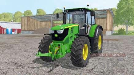 John Deere 6115M loader mounting для Farming Simulator 2015