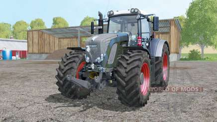 Fendt 936 Vario Black Beauty double wheels для Farming Simulator 2015