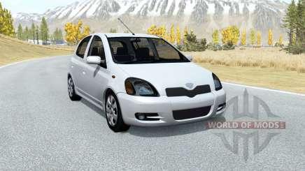 Toyota Vitz RS 5-door (P10) 2000 для BeamNG Drive