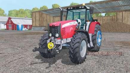 Massey Ferguson 5475 change wheels для Farming Simulator 2015