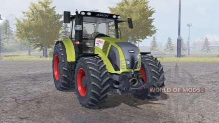 Claas Axion 850 dark moderate yellow для Farming Simulator 2013