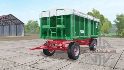 Kroger HKD 302 dark lime green для Farming Simulator 2017