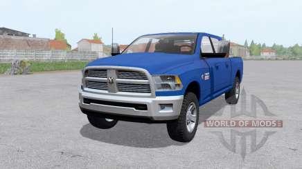 Dodge Ram 2500 Mega Cab 2009 для Farming Simulator 2017