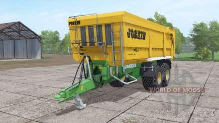Jøskin Trans-Space 7000-27 для Farming Simulator 2017