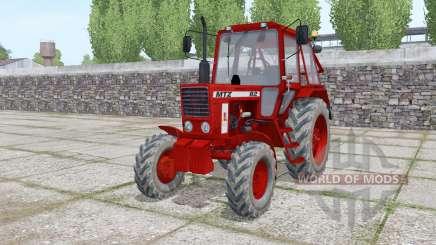 МТЗ 82 Беларус тёмно-красный для Farming Simulator 2017