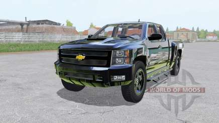Chevrolet Silverado 2500 HD Extended Cab для Farming Simulator 2017