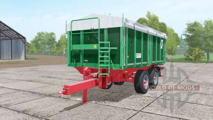 Kroger TKD 302 dark lime green для Farming Simulator 2017