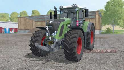 Fendt 927 Vario interactive control для Farming Simulator 2015