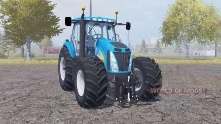 New Holland T8020 double wheels для Farming Simulator 2013