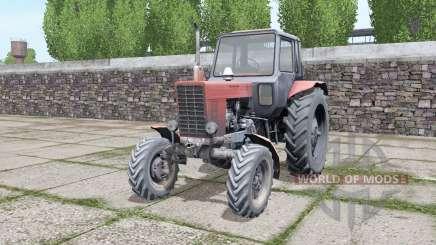 МТЗ 82 Беларус с выбором конфигураций для Farming Simulator 2017