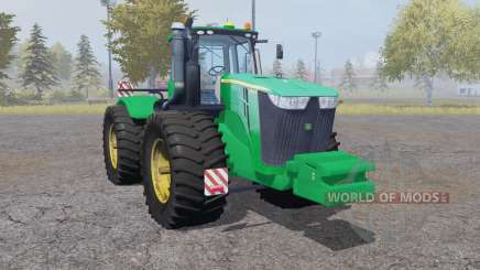 John Deere 9510R double wheels для Farming Simulator 2013