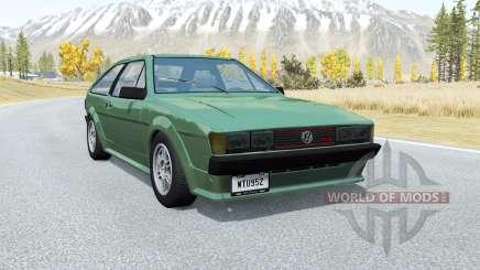 Volkswagen Scirocco GTX 1984 для BeamNG Drive