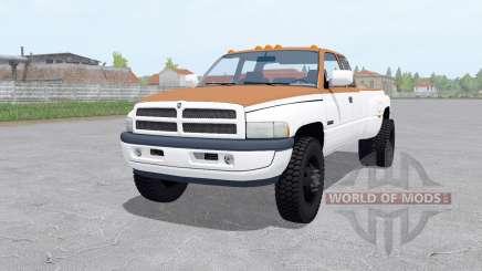Dodge Ram 3500 Club Cab 1994 для Farming Simulator 2017