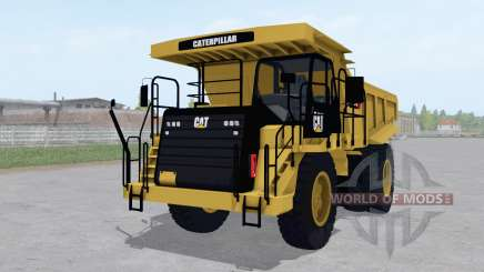 Caterpillar 773G 2011 для Farming Simulator 2017