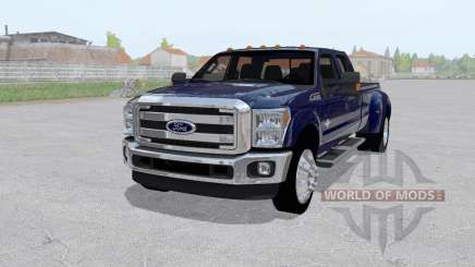 Ford F-350 King Ranch Crew Cab 2011 для Farming Simulator 2017