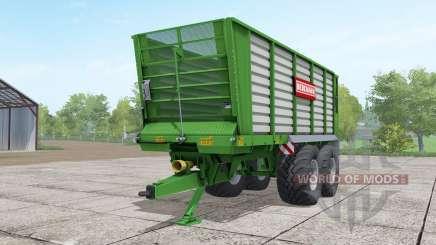 Bergmann HTW 35 lime green для Farming Simulator 2017