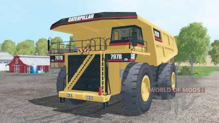 Caterpillar 797B 2002 для Farming Simulator 2015