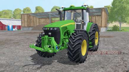 John Deere 8520 extra weights для Farming Simulator 2015