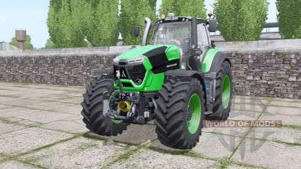 Deutz-Fahr Agrotron 9310 TTV real sounds engine для Farming Simulator 2017