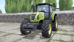 Claas Ariⱺn 640 для Farming Simulator 2017