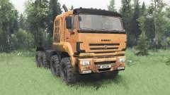 КамАЗ 65228 v2.0 для Spin Tires