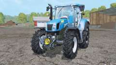 New Holland T6.175 wheels weights для Farming Simulator 2015