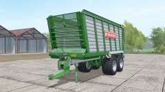 Bergmann HTW 40 dark lime green для Farming Simulator 2017