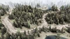 Forest Transit для MudRunner