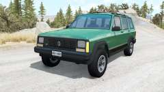 Jeep Cherokee (XJ) v1.1 для BeamNG Drive
