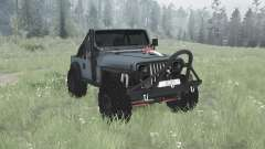 Jeep Wrangler (YJ) 1990 для MudRunner