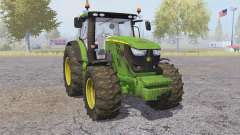 John Deere 6170R front loader для Farming Simulator 2013