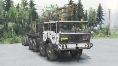 Tatra T813 TP 8x8 1967 Kings Off-Road 2 grey для Spin Tires