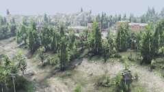 Лиственный лес v2.1.1 для Spin Tires