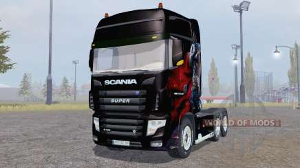 Scania R700 Evo Albator Edition для Farming Simulator 2013