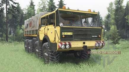 Tatra T813 TP 8x8 1967 Kings Off-Road 2 для Spin Tires