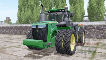 John Deere 9420R wheels selection для Farming Simulator 2017