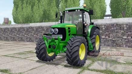 John Deere 7530 Premium extra lights для Farming Simulator 2017