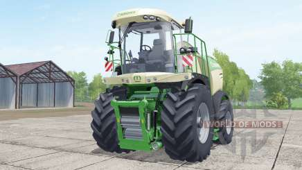 Krone BiƓ X 580 для Farming Simulator 2017