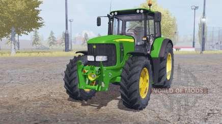 John Deere 6620 front loader для Farming Simulator 2013