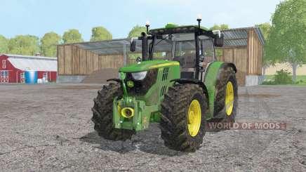 John Deere 6170R moving elements для Farming Simulator 2015