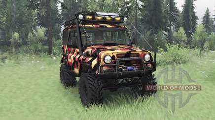 УАЗ 31514 Тундра для Spin Tires